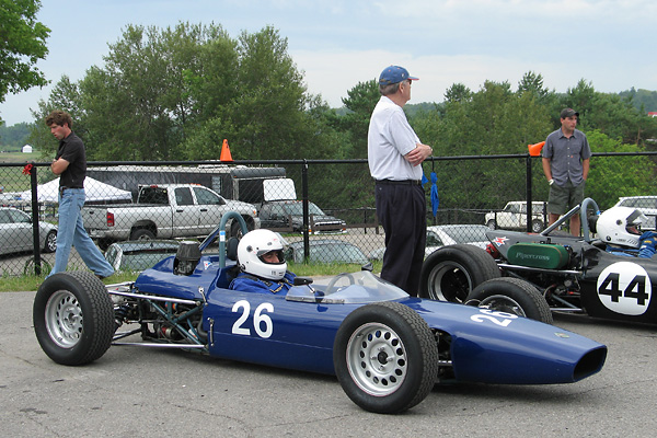 Howard Freeman's 1968 Merlyn 11 Racecar, Number 26