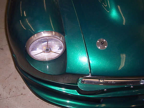 lucas headlight decals
