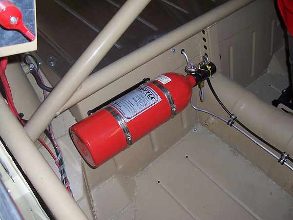 Central fire extinguisher system