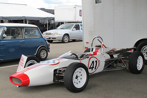 Jeff Snook S Russell Alexis Mk14 Formula Ford Race Car Number 41
