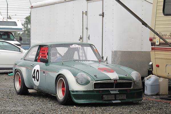 Jerry Richards 1972 Mgb Gt V8 Race Car Number 40