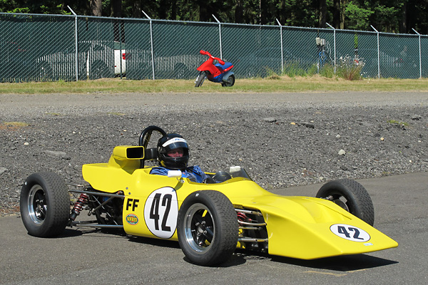 Jim Johnson's 1972 March 729 Formula Ford Race Car.
