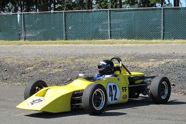 Jim Johnson acquired this rare March 729 Formula Ford as a basket case.