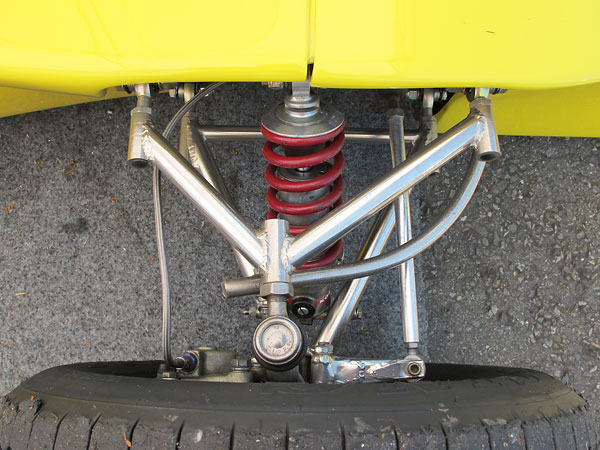 March originally fitted Armstrong single-adjustable shock absorbers.