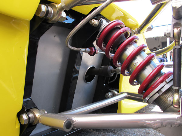 These are steel-bodied shock absorbers.
