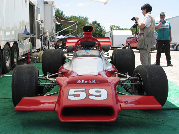 Jim Stengel's McRae GM-1 F5000 Race Car, Number 59