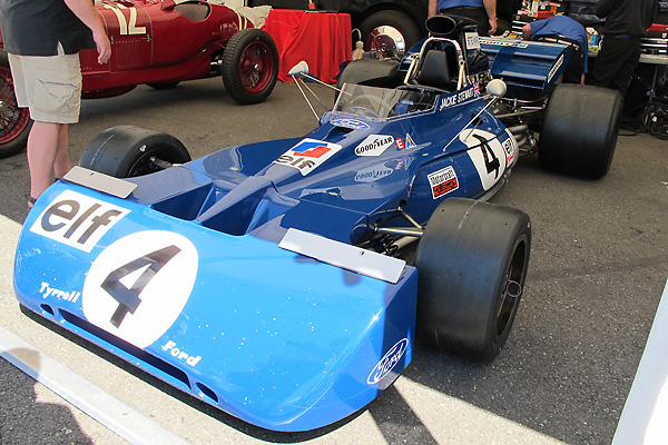 John Dimmer's Tyrrell at SOVREN's 2011 Pacific Northwest Historics at Pacific Raceways in Kent Washington.