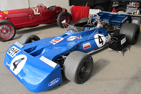 While Gold Leaf Team Lotus was dominating the 1970 Formula One season with their new Lotus 72...