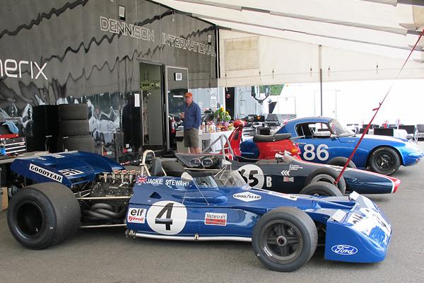 John Dimmer S Ex Jackie Stewart 1971 1972 Tyrrell Formula