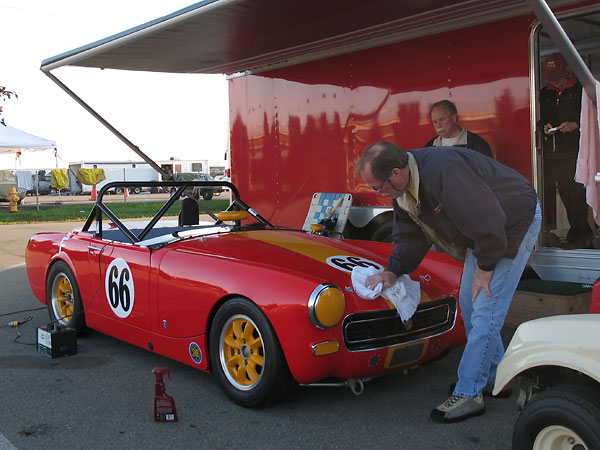 Midget drag racing