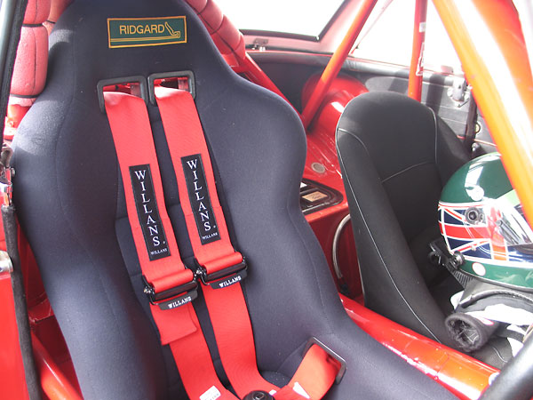 Willans six point Cam Lok harness from Targett MotorSport.