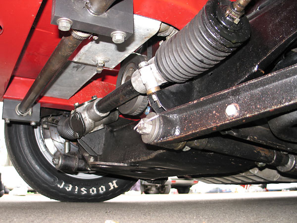 One inch anti-sway bar.