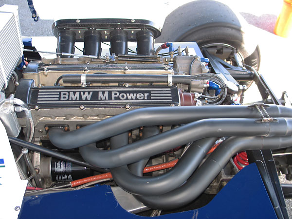 BMW's M12/7 Formula Two engine was remarkably similar to their contemporary Formula One engine.