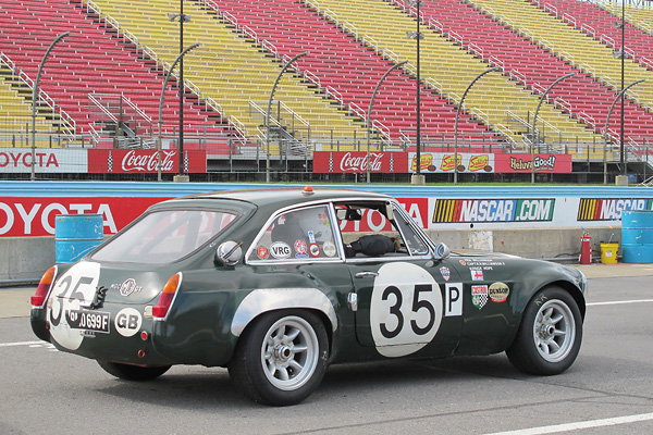 Racing number 35 is the number RMO-699F was assigned for the 1969 Sebring 12 Hour race.