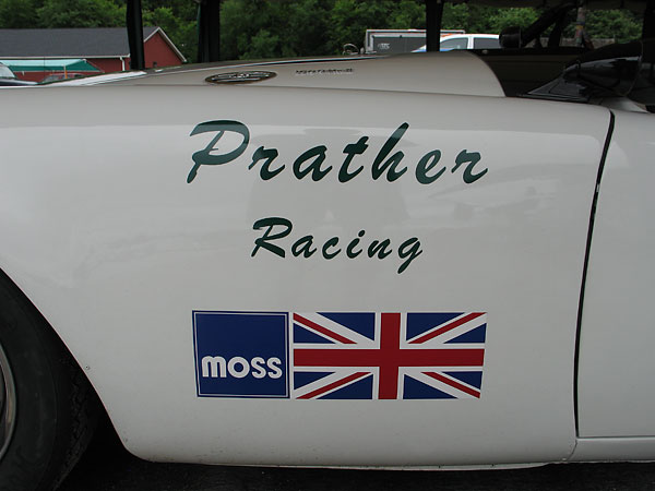 Prather Racing (sponsored by Moss Motors)