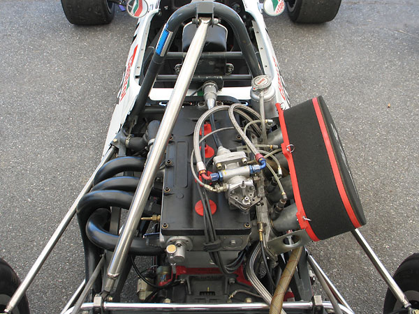 1600cc Ford / Cosworth BDA engine, recently rebuilt by Marcovicci-Wenz Engineering.