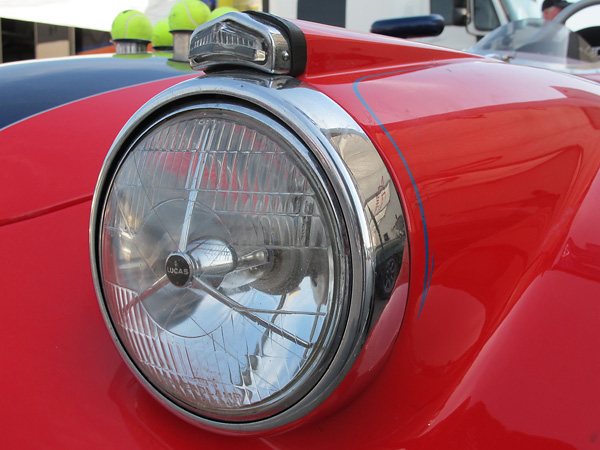 Lucas tripod headlamps.