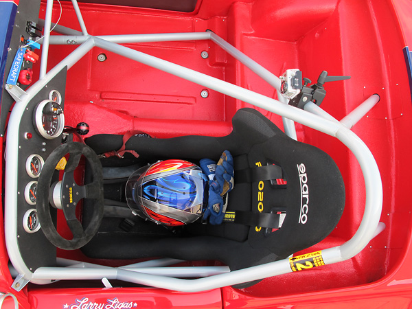 Sparco Pro2000 racing seat.