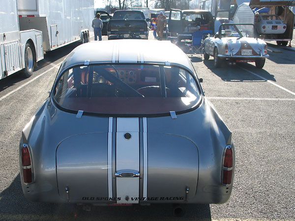 Peerless GT taillights were also used on Aston Martin DB4 and Alvis TD 21