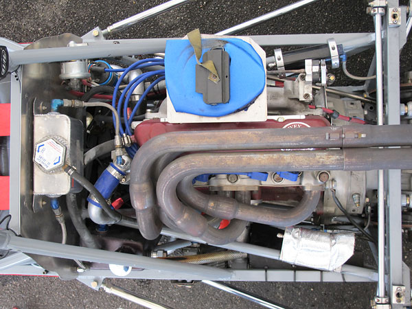 Ford Kent 1600cc with aluminum cylinder head, rebuilt by Ivey Engines, Inc.