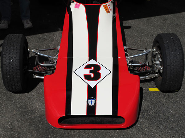1600cc Formula Ford class rules have always forbid use of wings...