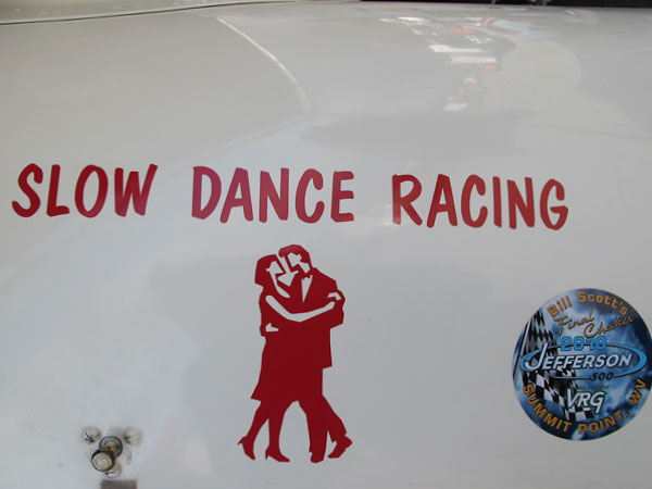 Slow Dance Racing.