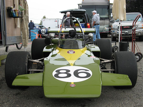 Jim Russell Racing Drivers School (JRRDS) colors.