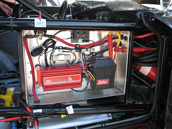 MichaelZappa MG MGB BI michael zappa's 1962 mg mgb race car, number 28 mallory hyfire 6al wiring diagram at gsmx.co
