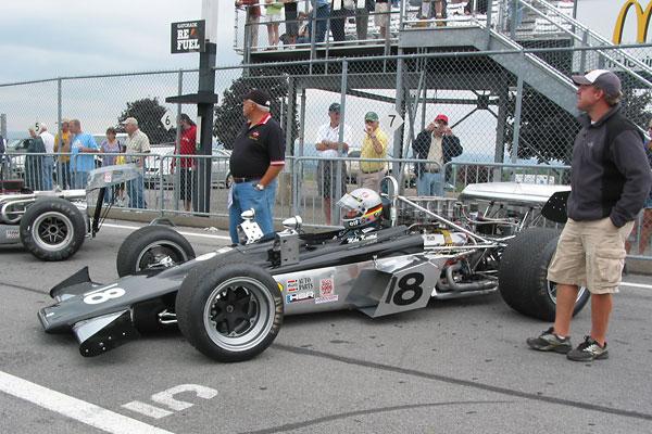 Mike Knittel S Chinook Mk12 Formula 5000 Racecar Number 8