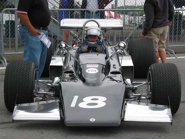 A Canadian Built Race Car, but with very strong similarities to a Lotus 70.