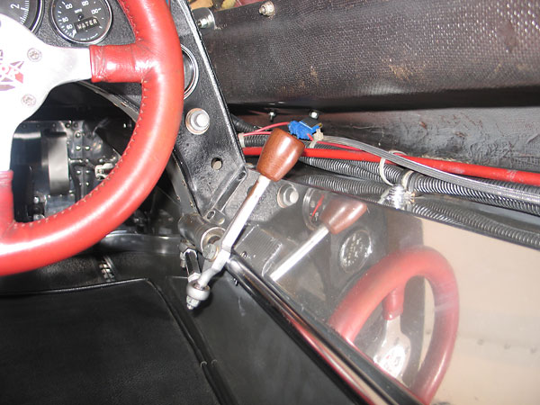 Shifter linkage.