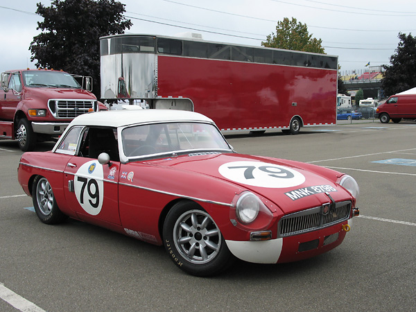 Mike Kusch / Hourglass Motorsport 1964 MGB Race Car