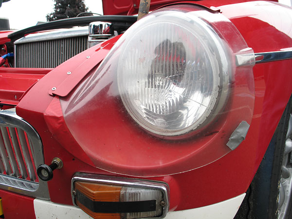 Sebring headlight cover.