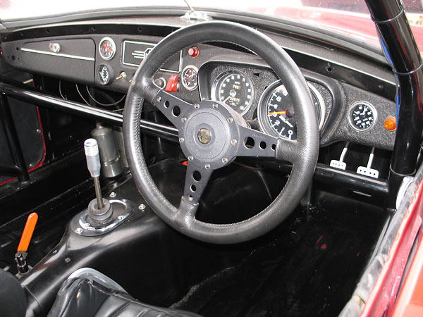 Moto-Lita steering wheel.
