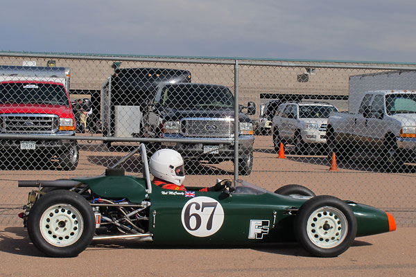 Neil McCready's Merlyn Mk20 Formula Ford Race Car