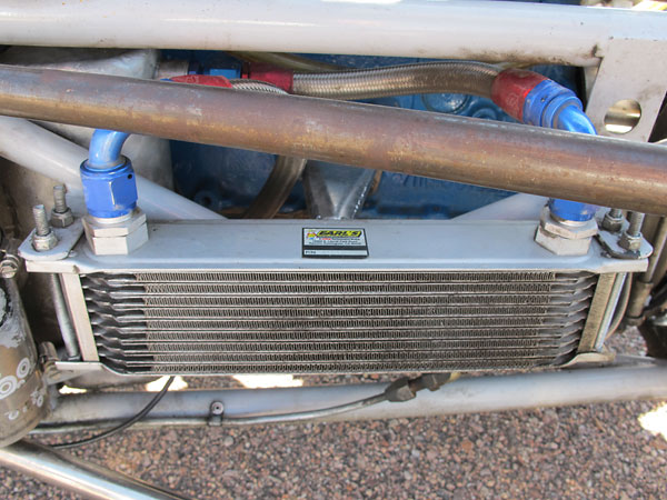 Earl's 10-row oil cooler.