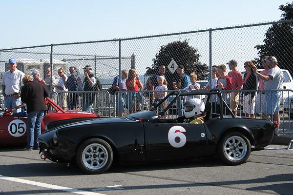 Pat Ryans 1967 Triumph Spitfire Racecar Number 6