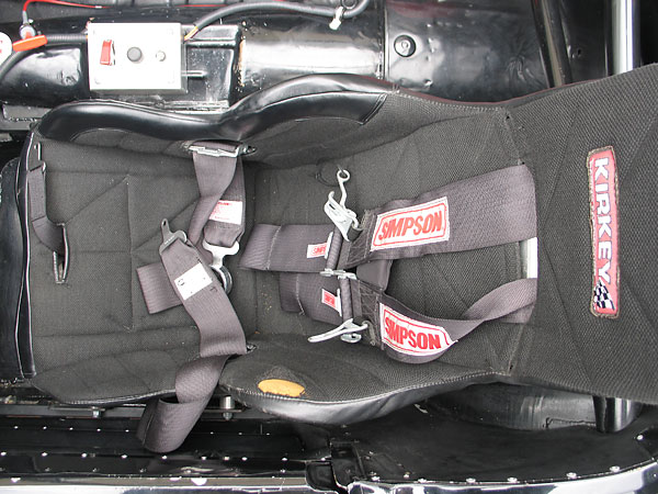 Simpson 5-point cam-lok safety harness.