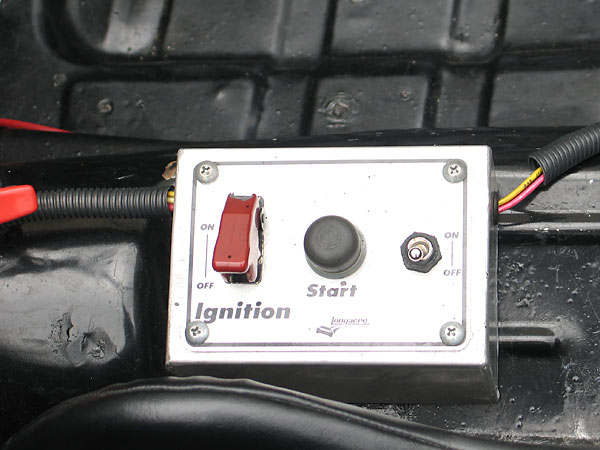 Longacre remote ignition and starter switch box.