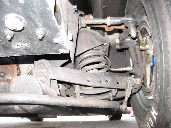 Through Mk1 production, Turner front suspension's were built around Austin A35 parts.