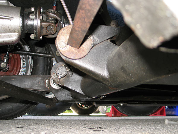 One of the advantages of torsion springs is that they make ride height adjustment simple.