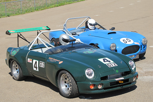 Phillip Leonard's 1994 MG RV8 Race Car, Number 28