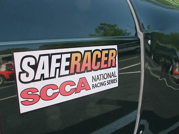 SafeRacer SCCA National Racing Series.