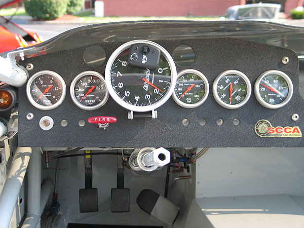 AutoMeter SportComp gauge package.