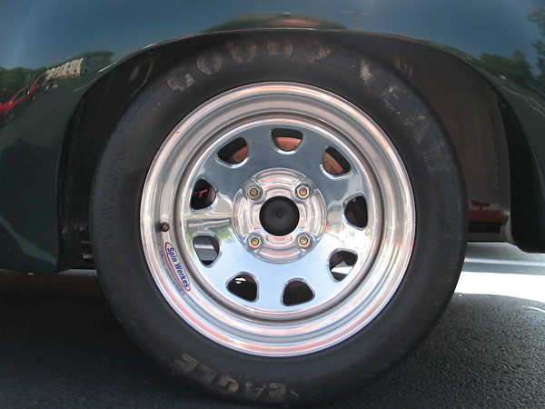 Goodyear Eagle 23.0x9.0x15, R430 compound racing slicks.