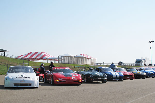 MG: ready to race with the big boys in SCCA's Grand Touring classes!