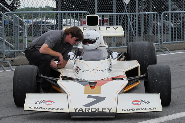 Chuck Golder, a full time mechanic for Lee Chapman racing, told us what he likes about the M23.