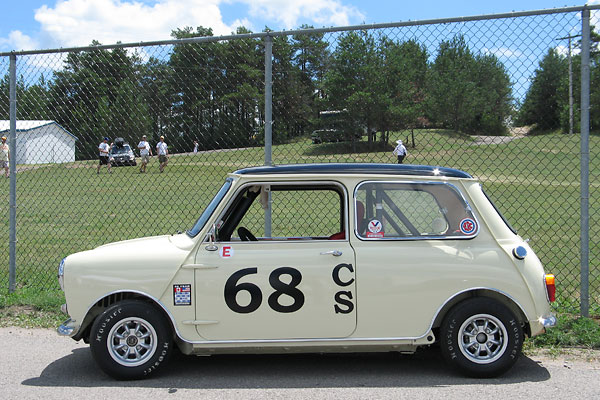 This car has been raced since it was brand new in 1965!