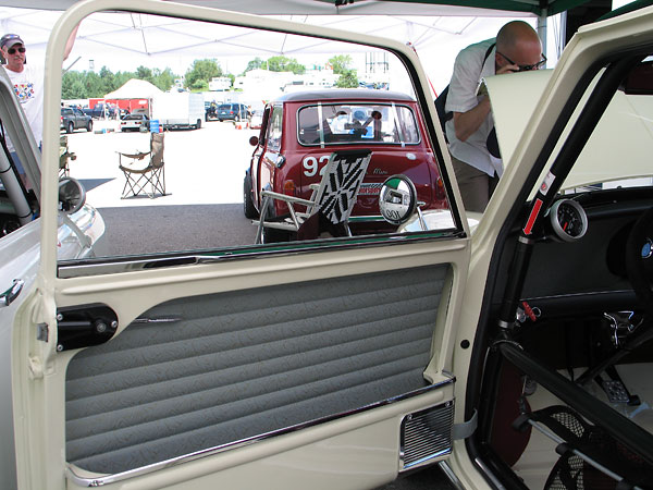 Minis came with sliding door windows through the 1967 model year.