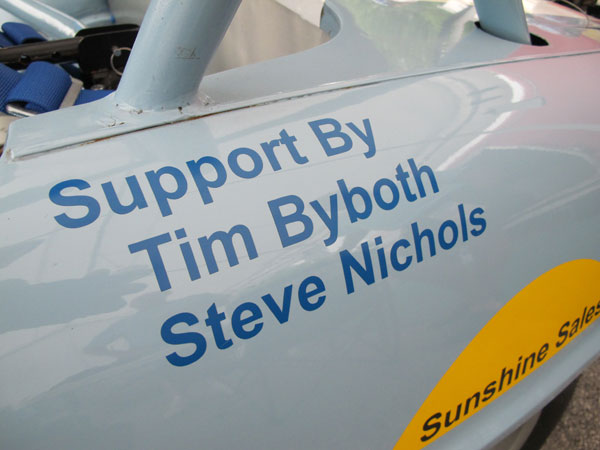 Support By: Tim Byboth and Steve Nichols